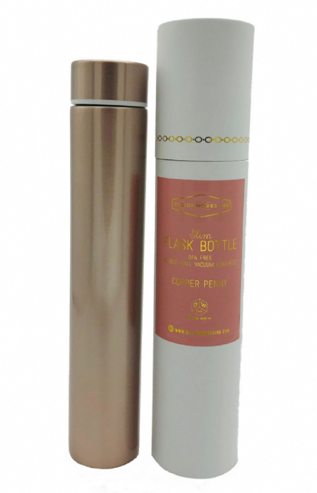 Slim Flask Bottle (Copper)